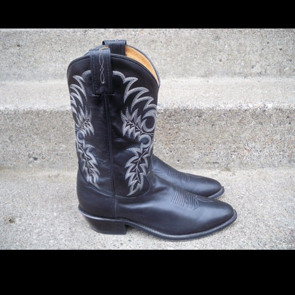a26eb0afaf0 TONY LAMA Stallion Cowboy Men's Pull-On Boots 10